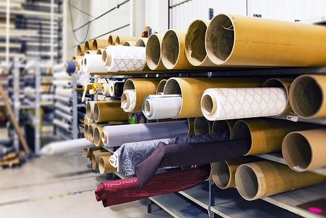 Aiding a textiles business