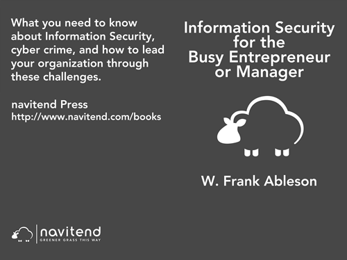 Information Security for the Busy Entrepreneur or Manager: What you need to know, minus the paranoia
